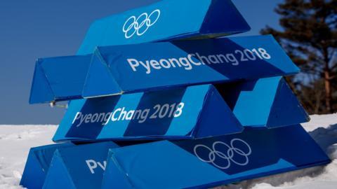 Pyeongchang 2018 banners
