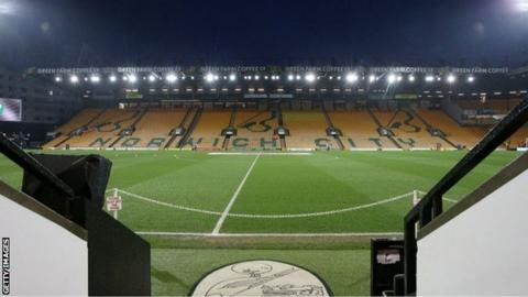 Carrow Road, home of Norwich City