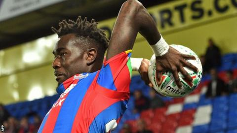 Pape Souare of Crystal Palace