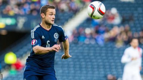 Scotland forward Shaun Maloney