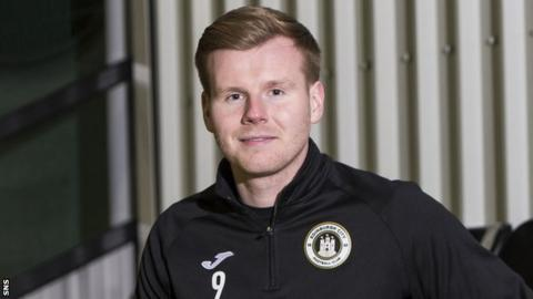 Edinburgh City striker Blair Henderson