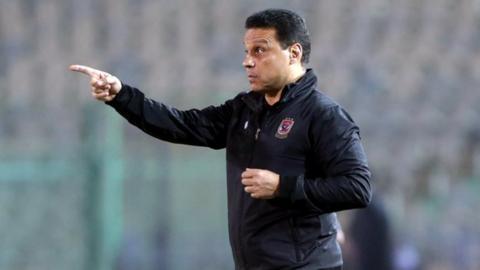 Al Ahly coach Hossam El Badry