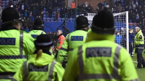 Policing at Wigan Athletic