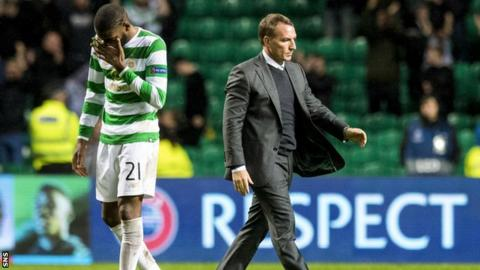 Olivier Ntcham and Brendan Rodgers