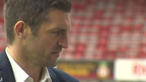 Former Wales international Sam Ricketts began his backroom career as youth coach at Wolves before taking over at Wrexham