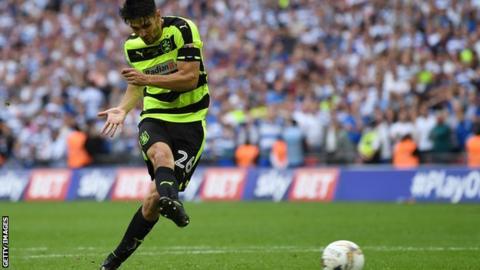 Huddersfield's Christopher Schindler