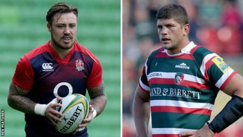 Jack Nowell and Mike Williams