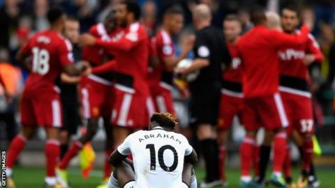 Tammy Abraham dejected