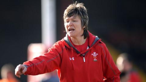 Liza Burgess won 93 caps for Wales and has also coached the Barbarians women
