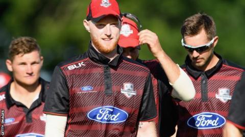 Ben Stokes scored 34 for Canterbury on Wednesday