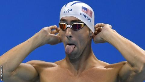 American swimmer Michael Phelps