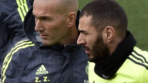 Real Madrid's Karim Benzema 'distraught' - Zinedine Zidane