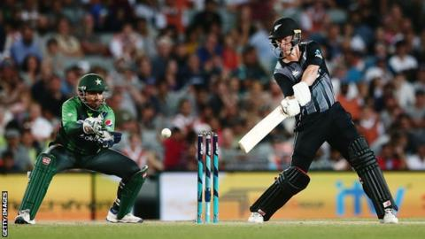 Pakistan and New Zealand in action in January
