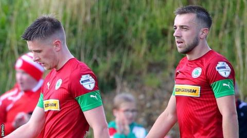 Cliftonville are fifth after picking up 10 points from six Irish Premiership games