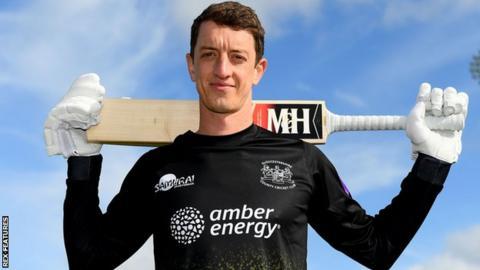 Gloucestershire batsman Will Tavare
