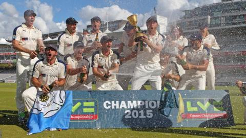 Yorkshire have won the County Championship in each of the last two seasons