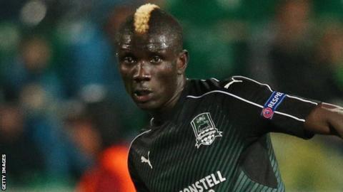 Krasnodar midfielder Kouassi Eboue