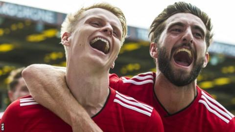 Captain Graeme Shinnie is leaving Aberdeen while Gary Mackay-Steven is also out of contract