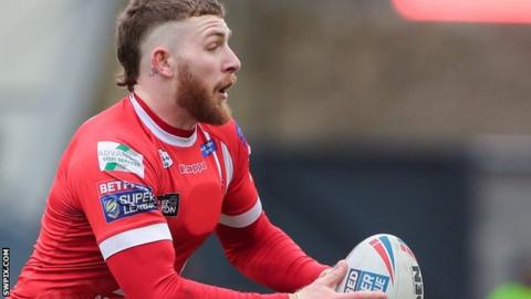 Jackson Hastings of Salford Red Devils