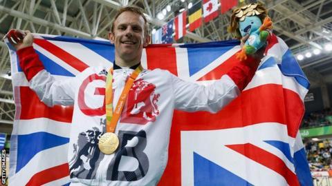Jody Cundy at the Rio Paralympics