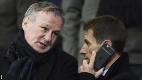 Michael O'Neill and Neil McCann