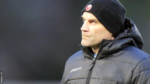 Glenn Ferguson departs Ballymena after losing five straight games