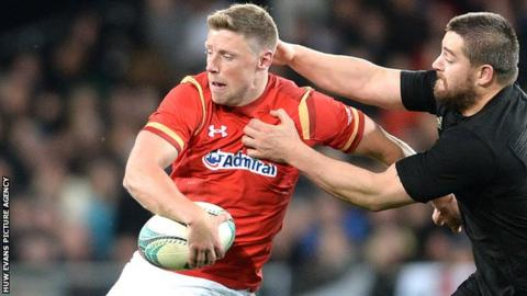 Fly-half Rhys Priestland last played for Wales in June 2016 against New Zealand