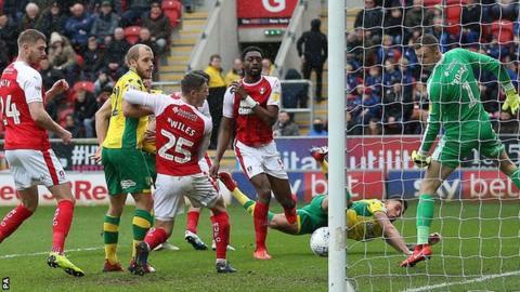 Ben Godfrey scores for Norwich