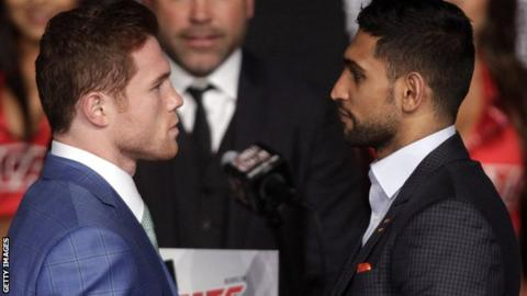 Amir Khan and Saul Alvarez