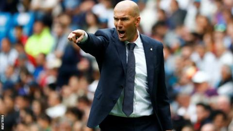 Zidane 'hurt' over heavy Real Madrid defeat at the hands of Atletico