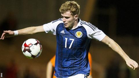 Scotland Under-21 midfielder Chris Cadden