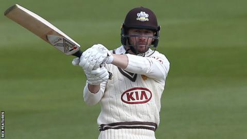 Mark Stoneman batting for Surrey