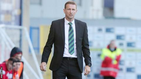 Northern Ireland Under-21 manager Ian Baraclough