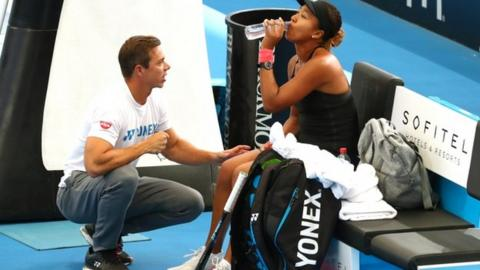 Naomi Osaka splits with coach two weeks after winning Australian Open