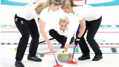 GB women's curling