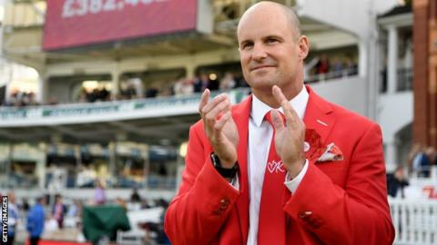 Andrew Strauss: 'Exceptional' former England captain receives knighthood