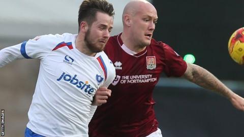 Portsmouth loan striker Marc McNulty