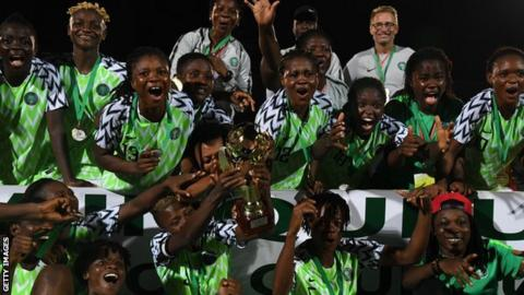 Nigeria celebrate first Women's Wafu cup title win after beating Ivory Coast
