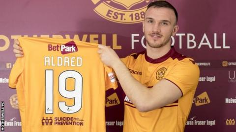 Tom Aldred has joined Motherwell on loan
