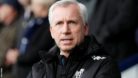 Alan Pardew fines player for latest act of insubordination at West Brom