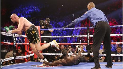 Tyson Fury destroys Deontay Wilder in heavyweight title rematch