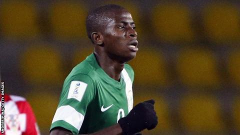 Nigeria's Victor Osimhen