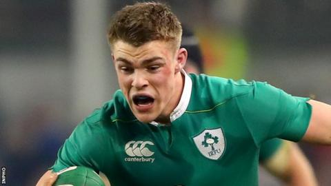 In Ireland's last match, Ringrose scored his first international try in the 27-24 win over Australia