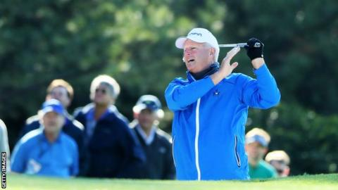 Sandy Lyle at the 2017 Masters
