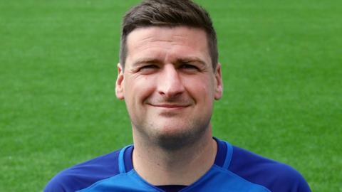 Montrose striker Chris Templeman