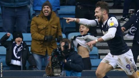 Millwall sub Tom Bradshaw's 69th-minute leveller against Luton proved the first of three goals in 12 minutes for Gary Rowett's rampant Lions