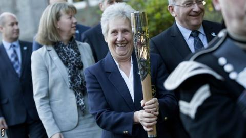 Louise Martin was the 2014 Glasgow Commonwealth Games organising committee vice chair