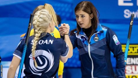 Muirhead's rink slipped to an 11-4 defeat to the Olympic champions