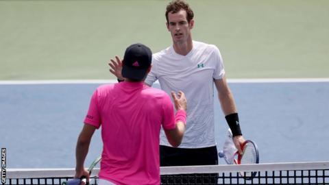 Andy Murray v Lucas Pouille, Cincinnati 2018