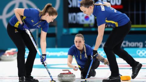 Sweden curling team